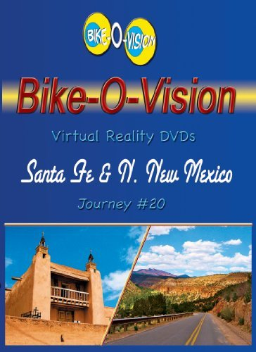 Bike-O-Vision - Virtual Cycling Adventure - Santa Fe & Northern New Mexico - Perfect for Indoor Cycling and Treadmill Workouts - Cardio Fitness Scenery Video (FullscreenDVD #20) by none (Cycling Virtual)