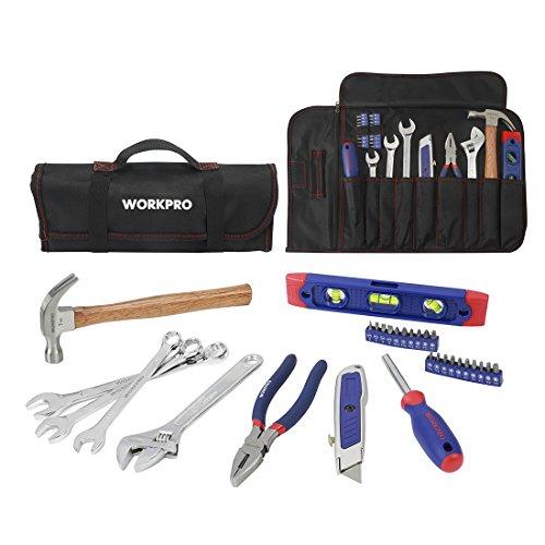 workpro-29-werkzeug-set-mit-tasche-schliesst-hammer-gebrauchsmesser-zangen-schraubenziehersprite-kom