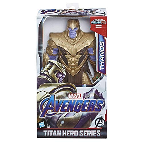 Marvel Avengers: Endgame - Thanos Titan Hero Deluxe compatibile con Power FX (Action Figure da 30 cm, Power FX non incluso)