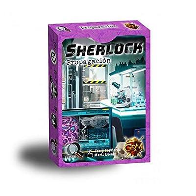 GDM Games Sherlock: propagación, Color Morado GDM134 de GDM Games