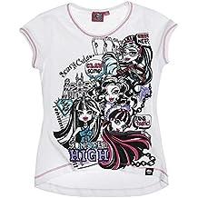 Monster High Fille Tee-shirt - blanc
