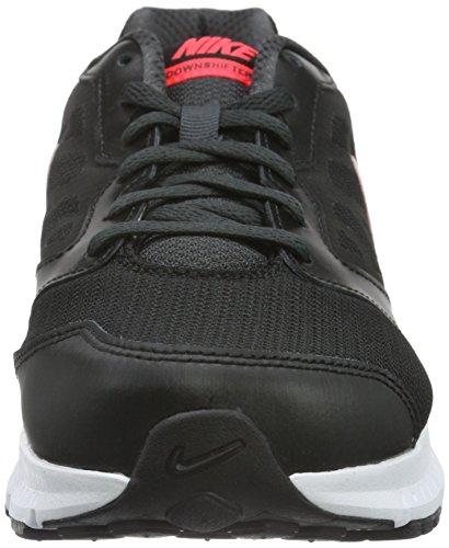 Nike Downshifter 6, Chaussures de Running Compétition Femme Noir (Black/Hyper Punch/Anthracite 002)