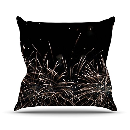 kess-inhouse-cm1060aop03-18-x-18-inch-catherine-mcdonald-fireworks-black-white-outdoor-throw-cushion
