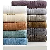 4 toallas de baño, de lujo, 100x160 cm a 100x180 cm, 600 y 850 gr / m² HOTEL SPA 100% algodón egipcio f zérotwist