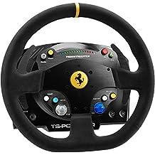 ThrustMaster TS-PC Racer Ferrari 488 Challenge Edition - Volante para PC con Fuente de