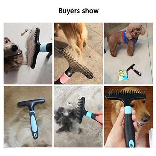 Zoom IMG-2 shanzhizui pettine per cani golden