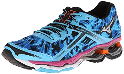Mizuno Women's Wave Creation 15 Running Shoe,Blue,6.5 B US