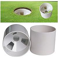 Marke New 2x Golf Training Loch Cup Putting Green Golf Praxis Cup 10,2cm
