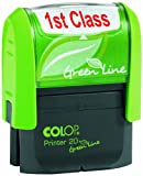 Colop Green Line Word Stamp FIRST CLASS Imprint 38x14mm Red Ref 1092704060
