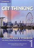 Get thinking. Student's book-Workbook. Per le Scuole superiori. Con e-book. Con espansione online: 1