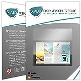 Slabo 2 x Bildschirmschutzfolie Lenovo Yoga Book Bildschirmschutz Schutzfolie Folie No Reflexion|Keine Reflektion MATT - Entspiegelnd Made IN Germany