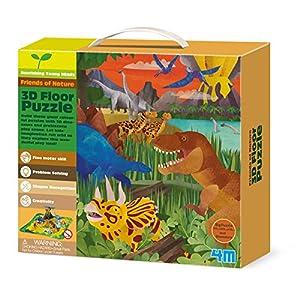 4M - Puzzle de Suelo 3D - los Dinosaurios