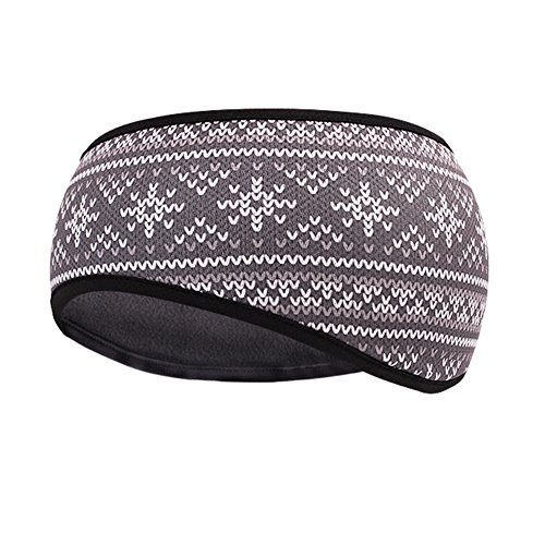 TClian Ear Warmer Winter Headband for Men & Women Polar Fleece Ski Full Cover Ear Muff Stretch Hair Band Accessories Perfect for Winter Running Yoga Skiing Sport & Daily Wear – 7 Colors (HABO-08)