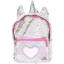 Missley Lentejuela Unicornio Mochila Creativo Unicornio Bolso Moda Animal Mochilas Bolso Regalos para De Las Mujeres