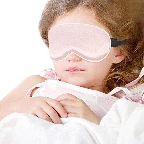 Seide Augenmaske Super Soft Schlafmaske Beste Schlafaugenmaske Augenbinde für Kinder