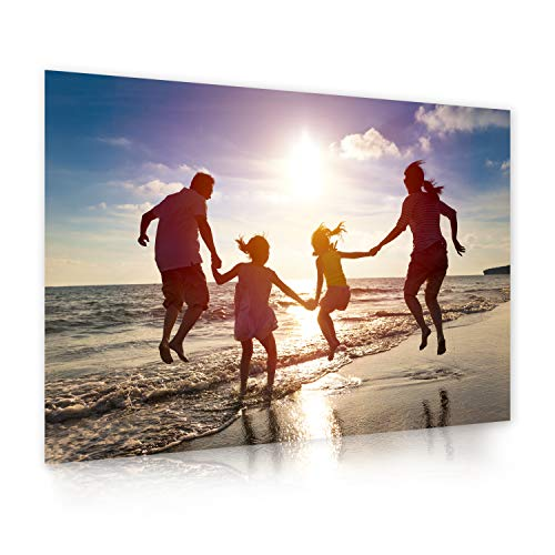 Ihr eigenes Foto als XXL Poster drucken lassen | 120cm x 80cm | erstellen Sie eigene Urlaubs, Familien oder Hochzeits-Bilder, direkt auf Amazon konfigurieren | Premium Druck-Qualität 200g Fotopapier