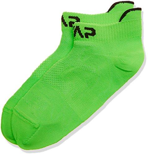 CMP Kinder Füßlinge Socken, Green Fluo, 34/36