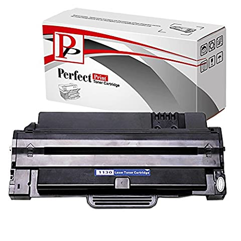 PerfectPrint Compatible Toner Cartridge Replacement for Dell 1130 1130N 1133 1135N (Black)