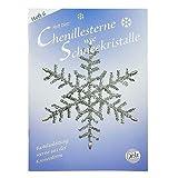 Buch deutsch, Chenillesterne Schneekristalle, A 5, Heft 6 /32 S.+ Schablonen, 2759066