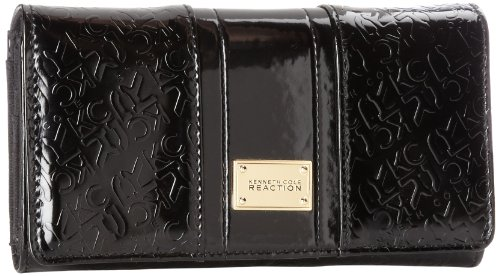 kenneth-cole-reaction-flap-clutch-donna-nero