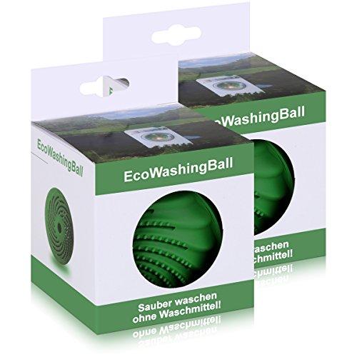 Scanpart Waschkugel EM biologischer Waschball effektive mikroorganismen(2er Pack) -