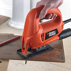 Black & Decker KS600E 450-Watt Slightline Autoselect Pendulum Jigsaw