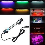 Etelux LED Aquarium Licht Aquarium Beleuchtung für Salzwasser und Süßwasser Lampe Unterwasser Tauchlampen Lampen Röhren 5050 SMD Farbe (6LED&Bunt)