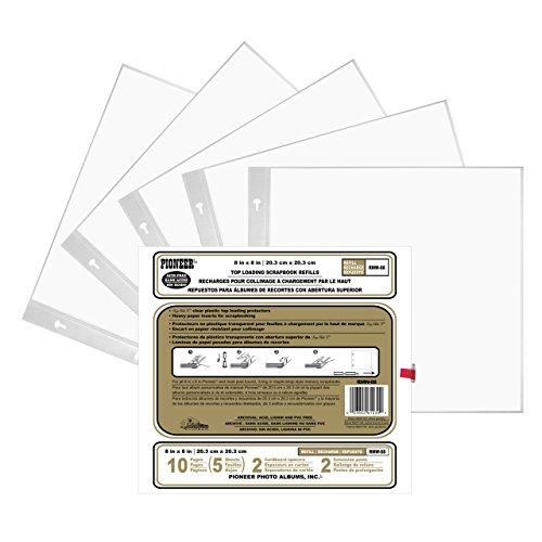 Pioneer Nachfüllpackung Postbound 12,7 x 17,8 cm, Weiß 8