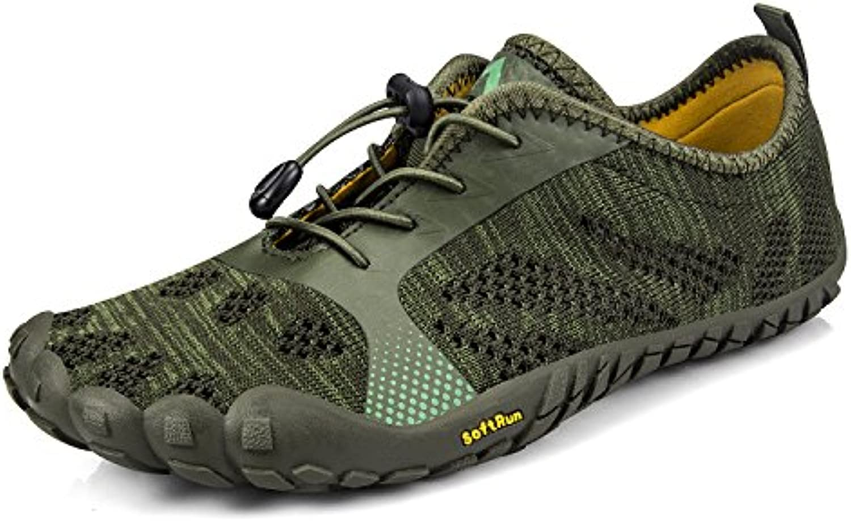 ZOCAVIA - Zapatillas para Hombre, Color Verde, Talla 37 EU