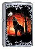 Zippo Sturmfeuerzeug 60002725 Wolf Moon Trees - Street Chrome Collection 2017 -