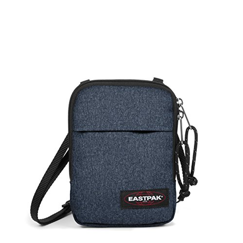 Eastpak Buddy, Borsa A Tracolla Unisex - Adulto, Blu (Double Denim), 0.5 liters, Taglia Unica (13 x 18 x 2 cm)