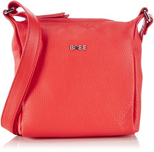 Bree Nola 1, New Elefant, Ladies' Handbag, Sacs bandoulière Femme Rouge (rouge 150)