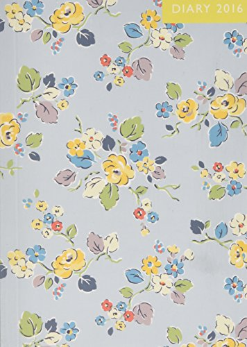Diary 2016 Small Woodland Rose Pale Blue