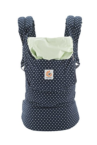 Ergobaby Original Collection Evolutionary Backpack Baby Carrier one size Ergobaby The baby's weight is evenly distributed between the wearer's hips and shoulders. The baby is ergonomically cradled in a natural seated position. It has front, back, and hip carrying positions. 3