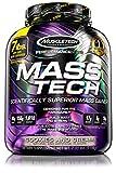 MuscleTech Mass Tech, Gewichtzunahmen Shake, Wissenschaftlich gegtestete Weight Gainer Formel, Cookies 6 Cream, 3.18 g