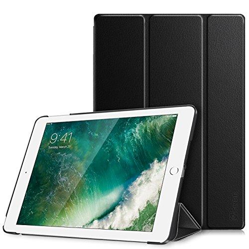 Fintie Nuovo iPad 9.7 Pollici 2018 2017, iPad Air 2, iPad Air Custodia - Sottile Leggero Cover Protettiva Case con Auto Sveglia/Sonno funzione, Nero