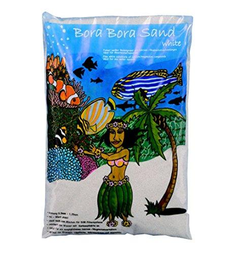 Preis Aquaristik Bora Bora Sand 8Kg - feiner weißer Bodengrund für Meerwasseraquarien