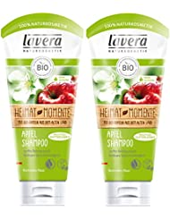 lavera Apfel Haar Shampoo ∙ Sanfte Reinigung ∙ vegan ✔ Bio Haarshampoo ✔ Natural & innovative Hair Care ✔ Naturkosmetik ∙ Haarpflege 2er Pack (2 x 200 ml)