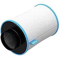 RAM 100/ 200 - Filtro de carbono (10,16cm, 170m³/h)