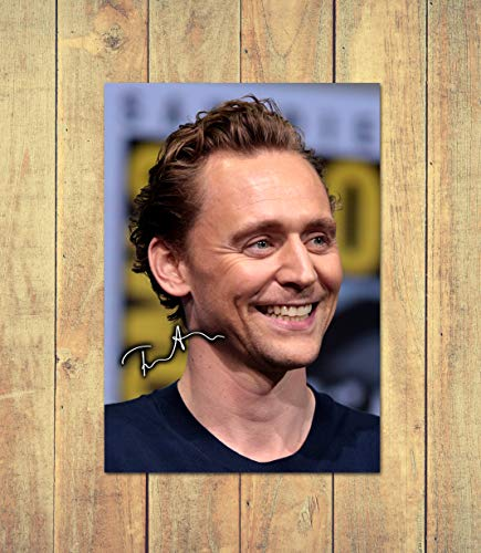 Tom Hiddleston - Loki 3 - High Gloss Printed Poster - A5 (148 x 210 mm) Personalised