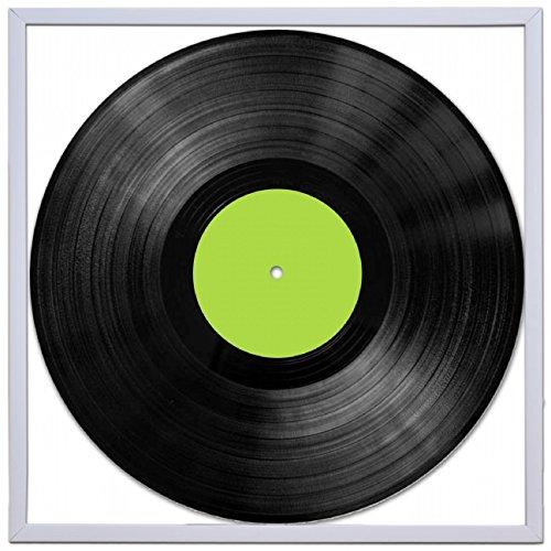 Álbum de vinilo Retro LP Record Marco de tubo cuadrado 30centímetro 12inch Funda pared arte display-silver