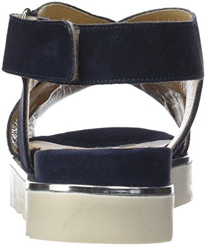 ... Donna Piu Damen Pippi Slingback Sandalen Bleu (marine 001) ...