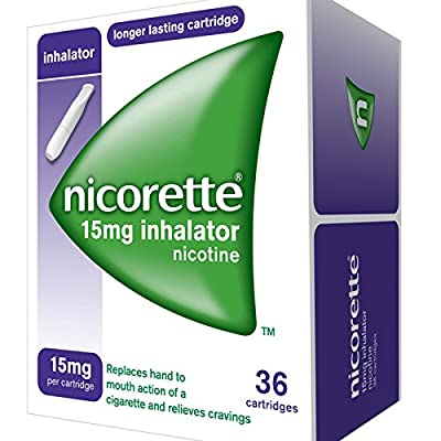 Nicorette 15 mg Inhalator by J&J