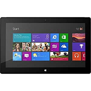Microsoft Surface Pro 64GB Black - tablets (Windows, Slate, Windows 8 Pro, Pro, Black, 802.11a, 802.11b, 802.11g, 802.11n)