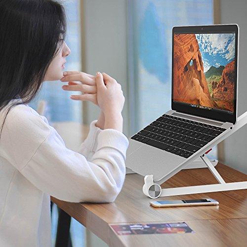 & AUBEBE Supporto per Portatile PC Regolabile e Portatile per Laptop Notebook Macbook Basi di appoggio fino a 15.6 Polici recensioni dei consumatori