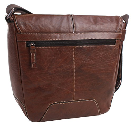 camel active Borsa Messenger 156 603 20 Marrone 7.5 liters Braun