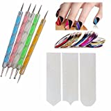 Best Nail Tools - FOK Nail Art Combo 5pc Nail Art Pen Review