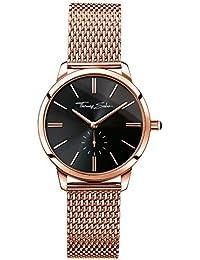 Thomas Sabo Damen-Armbanduhr Analog Quarz Edelstahl WA0249-265-203-33 mm