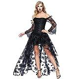Damen Rock Vintage Rock Steampunk Gothic Halloween Dress