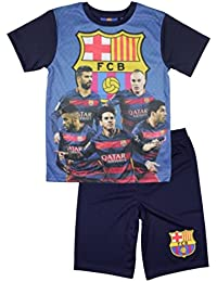 FC Barcelone - Ensemble foot maillot et short FC Barcelone bleu officiel - 6 ans,8 ans,10 ans,7 ans,11 ans,9 ans
